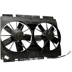 Maradyne Fans MM22KT Dual Cooling Fan, 11 Inch w/Mounting Flanges