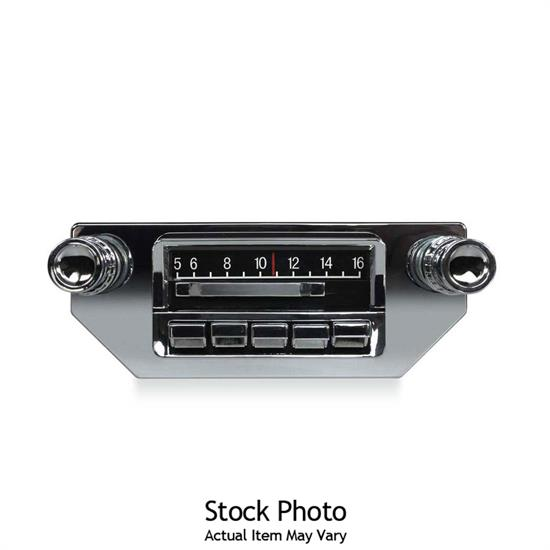 Custom Autosound CAM-CVMV-SBR Slidebar Custom In-Dash Radio