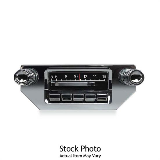 Custom Autosound CAM-VECH-7-SBR Slidebar Custom In-Dash Radio