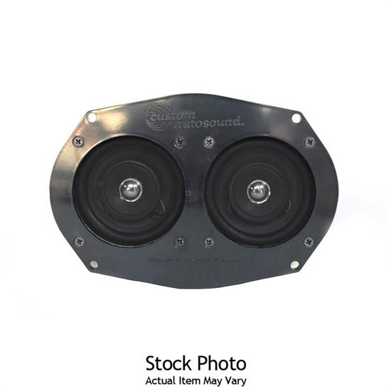 Custom Autosound 1018 Dual Custom Fit Speakers