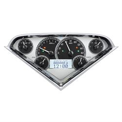 Dakota Digital VHX-55C-PU-S-W 55-59 Chevy Pickup VHX Instruments