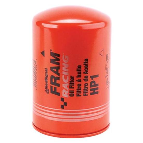 fram hp1 high performance racing oil filter, ford fram fuel filters bowls