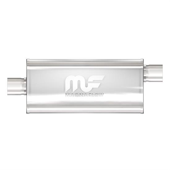 "MagnaFlow 4/"" X 9/"" Oval Straight Through Performance Muffler 11229"
