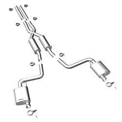 MagnaFlow 15099 MF Series Performance Cat Back Exhaust System