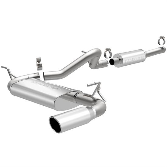 MagnaFlow 15116 MF Series Performance Cat Back Exhaust System