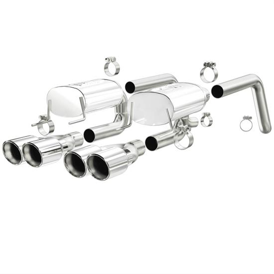 MagnaFlow 15886 MF Series Axle-Back Exhaust System
