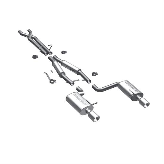 MagnaFlow 16586 MF Series Performance Cat Back Exhaust System