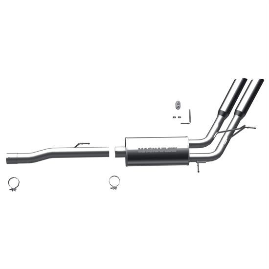 MagnaFlow 16852 MF Series Performance Cat Back Exhaust System