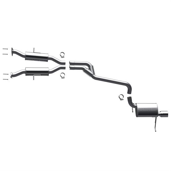 MagnaFlow 16991 MF Series Performance Cat Back Exhaust System