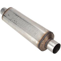 Flowmaster 12518300 Hushpower II 304 Muffler 2.5 Inch ID, 18 Inch Case