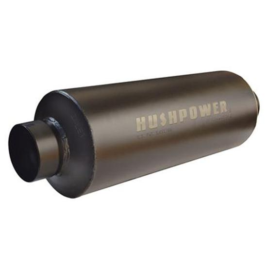 Flowmaster 13516100 Hushpower Pro Series Race Muffler, .5 In In/Outlet