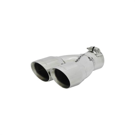 Flowmaster 15307 Exhaust Tip, 2.5 in. Inlet I.D., 10 in. Length