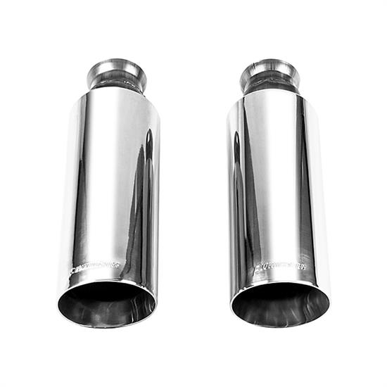 Ram 1500 Exhaust >> Flowmaster 15356b Clamp On Exhaust Tips 2009 2018 Ram 1500