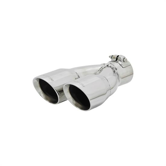Flowmaster 15389 Exhaust Tip, 2.50 in. Inlet, 10 in. Long