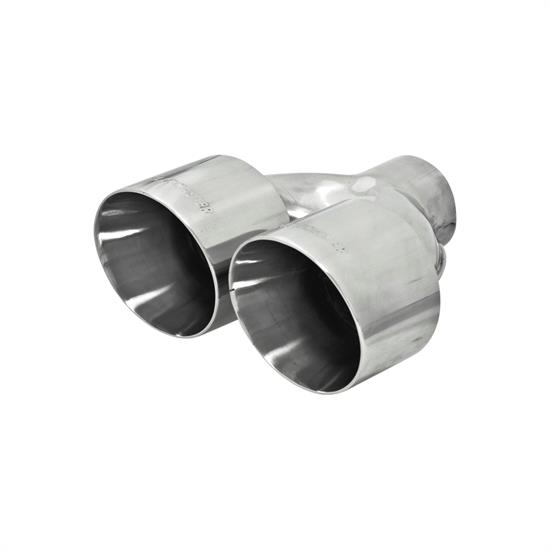 Flowmaster 15391 Exhaust Tip, 2.5 in. Inlet I.D., 10 in. Length