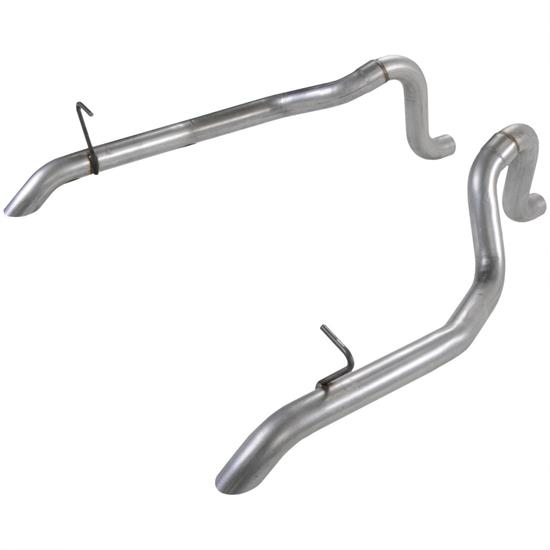 Flowmaster 15805 Tailpipes, 2.5in 87-93 Mustang GT