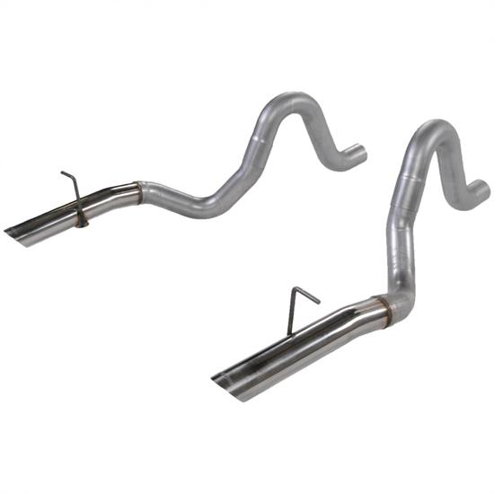 Flowmaster 15820 Tailpipes, 3in Pair 87-93 Mustang