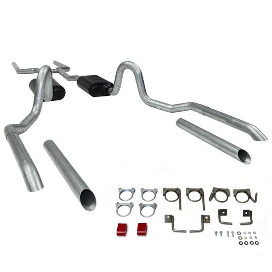 Flowmaster 17119 Header Back Dual Out 64-72 Chevelle GTO &442 V8 Exhaust Kit