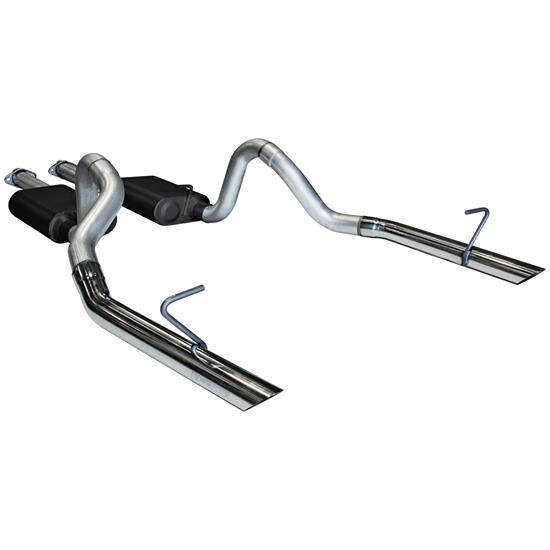 Flowmaster 17213 American Thunder Exhaust Kit, 1986-93 Mustang LX