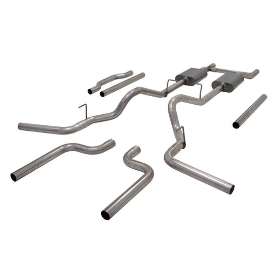 Flowmaster 17742 American Thunder Exhaust Kit, 1973-87 GM Trucks