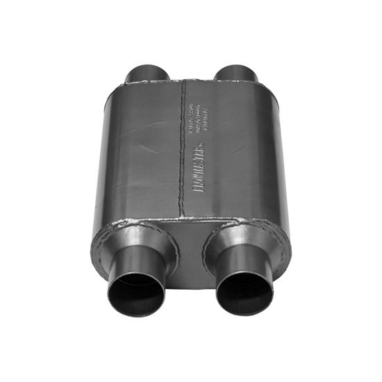 Flowmaster 425404 40 Series Muffler, 2.50 IN(D)/OUT(D)