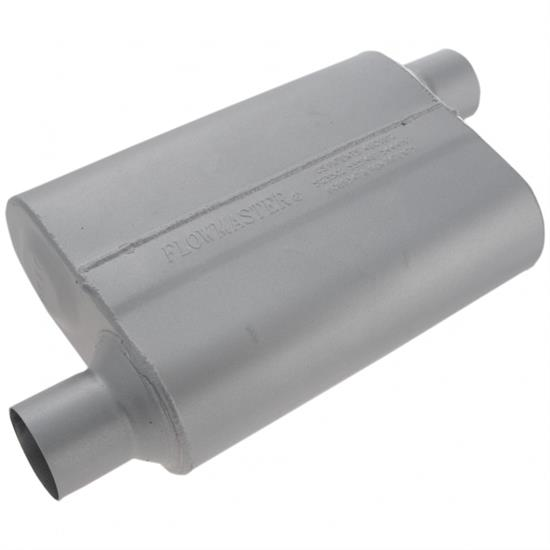 Flowmaster Mufflers 42543 40 Series 2.5 Inch Muffler, Offset In/Outlet