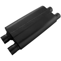 Flowmaster 42582 80 Series Crossflow Muffler, 2.50 In/Out