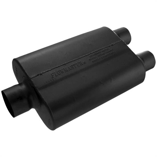 Flowmaster 430402 40 Series Muffler, 3.00 In/ 2.50 Out