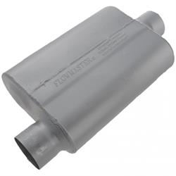 Flowmaster 43041 40 Series 3 In. Muffler, Offset Inlet-Centered Outlet
