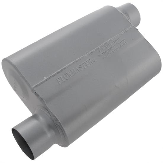 Flowmaster Mufflers 43043 40 Series Muffler, Offset Inlet/Outlet, 3 In