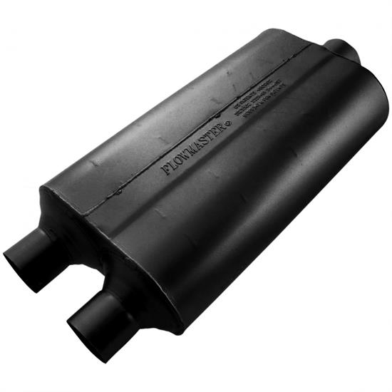 Flowmaster 524553 50 Series Muffler, 2.25 In/ 3.00 Out
