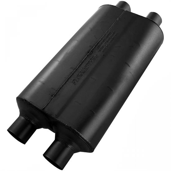 Flowmaster 524554 50 Series Muffler, 2.25 In/Out