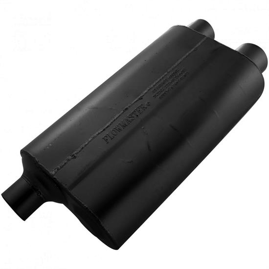 Flowmaster 53083 80 Series Crossflow Muffler, 3.00 In/ 2.50 Out