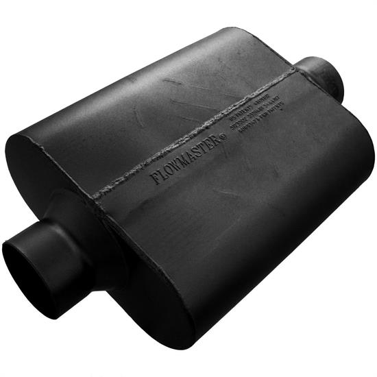 Flowmaster 53530-12 30 Series Delta Force Muffler, 3.50 In/Out
