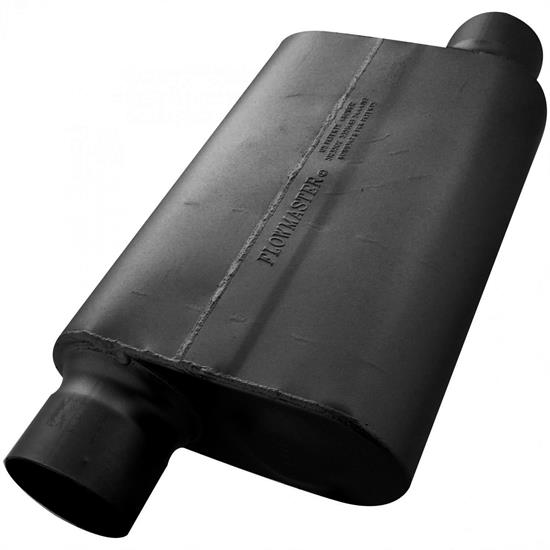 Flowmaster 54033-12 Delta Force 30 Series Muffler, 4.00 In/Out