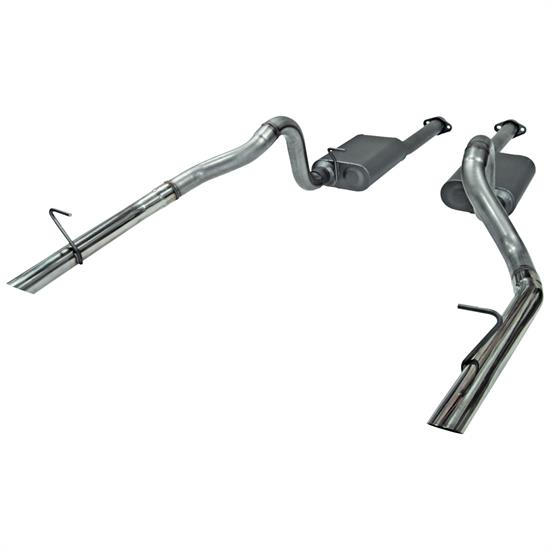 Flowmaster 817213 American Thunder Exhaust Kit, 1986-93 Mustang