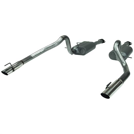 Flowmaster 817312 American Thunder Exhaust Kit, 1999-04 Mustang
