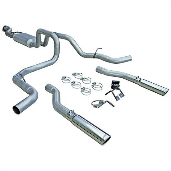 Flowmaster 817435 American Thunder Kit Exhaust Kit, 1999-06 GM