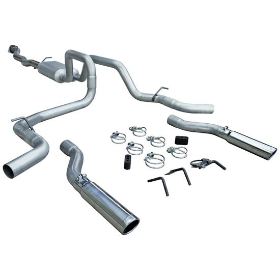 Flowmaster 817436 American Thunder Exhaust Kit, 2004-06 GM Truck