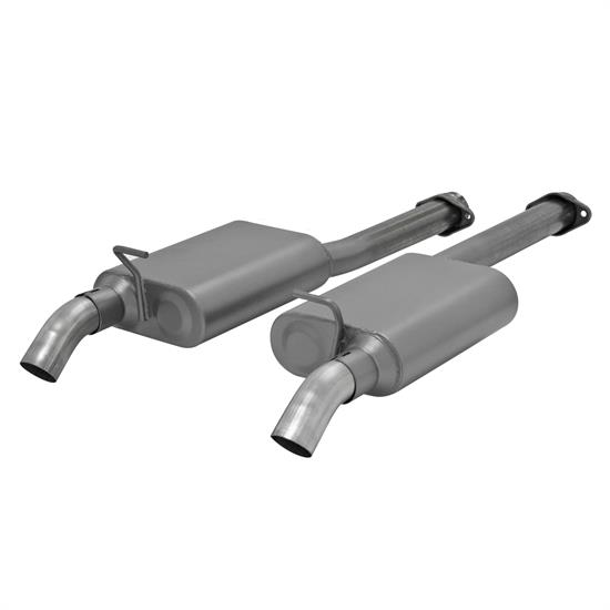 Flowmaster 817574 American Thunder Exhaust Kit, 1986-04 Mustang
