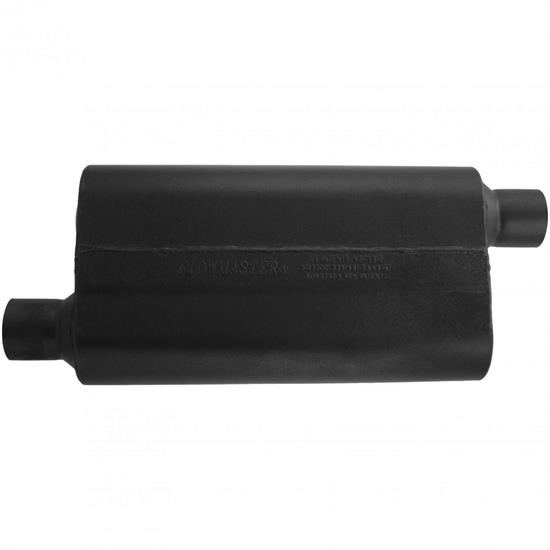 Flowmaster 842553 50 Series Delta Flow Muffler, 2.50 In/Out