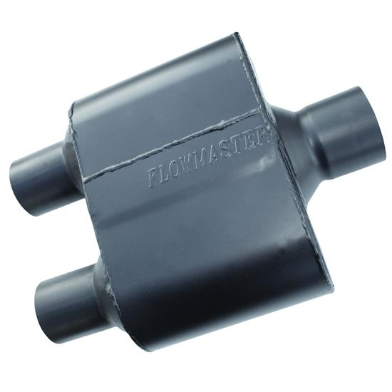 Flowmaster 8430152 Super 10 Series Muffler, 3.00 In/ 2.50 Out