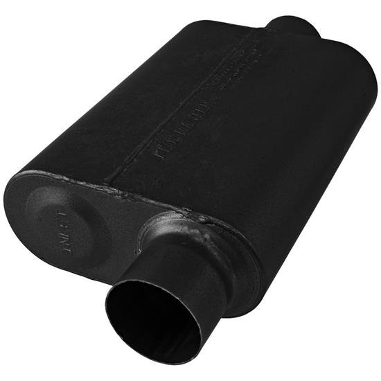 Flowmaster 843046 Stainless Super 44 Series Muffler, 3.00 In/Out