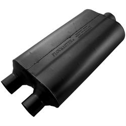 Flowmaster 8524553 Stainless 50 Series Muffler, 2.25 In/ 3.00 Out