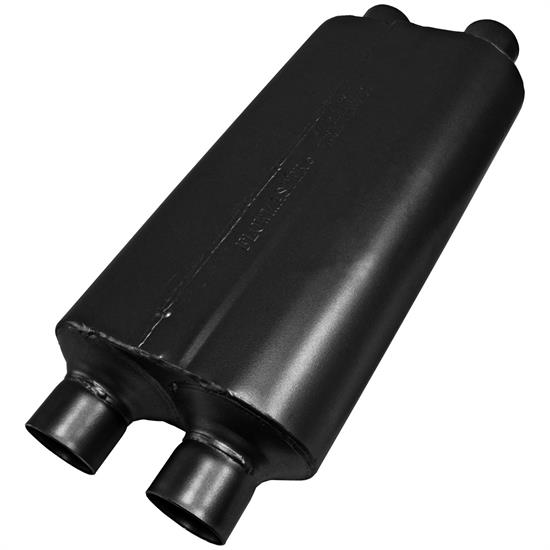 Flowmaster 8525554 50 Series Heavy-Duty Muffler, 2.50 In/Out