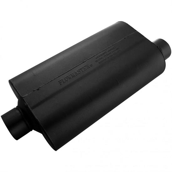Flowmaster 853057 Stainless 50 Series Muffler, 3.00 In/Out