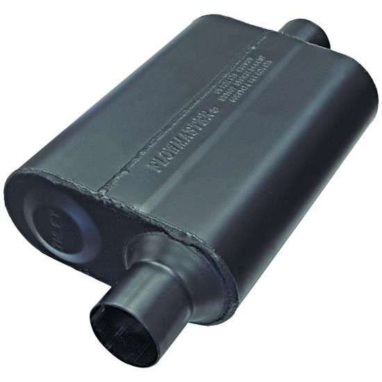 Flowmaster 942446 Super 44 Muffler-Offset Inlet-Centered Outlet, 2-1/4