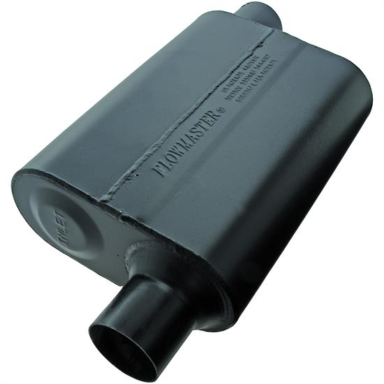Flowmaster Mufflers 942448 Super 44 2.25 In. Muffler, Offset In/Outlet