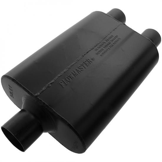 Flowmaster 9425452 Super 44 Series Muffler, 2.50 In/ 2.25 Out