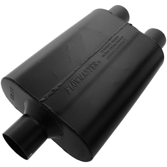 Flowmaster 9425472 Super 44 Series Muffler, 2.50 In/Out